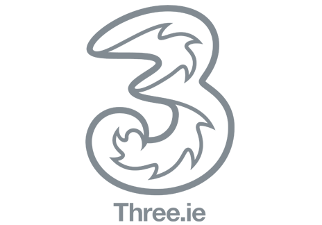 Three Mobile Branding Client Dublin