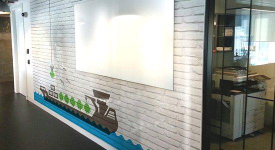 White Board Branding Solutions - Vision Branding Dublin