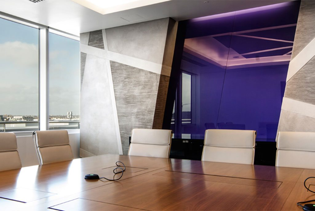 Feature Glass Walls Create Inspiring Interiors
