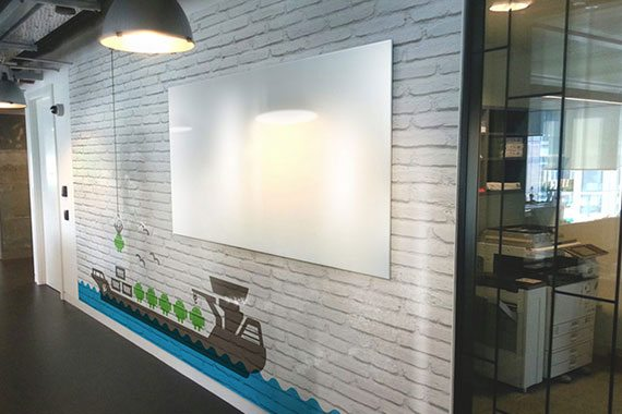 Customized Office Whiteboards In Workplace