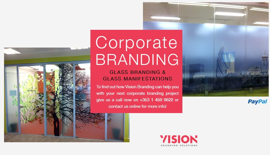 Glass Branding and Glass Manifestations - Vision Branding