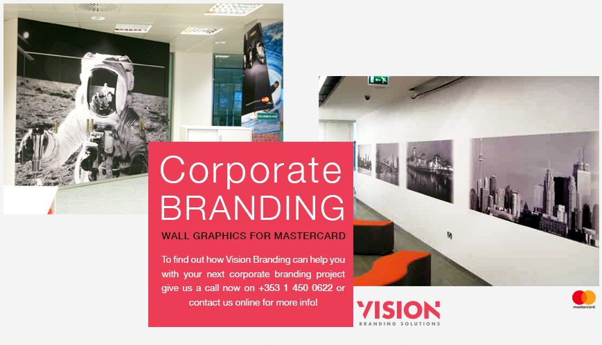 Wall Graphics - Corporate Branding - Vision Branding Solutions