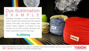 Dye Sublimation Example - Vision Branding Solutions