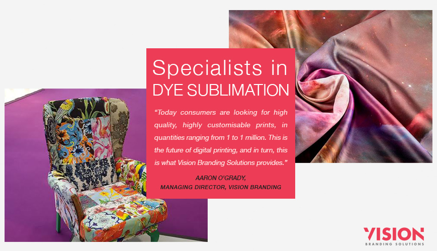 Dye Sublimation Specialists - Vision Branding Solutions