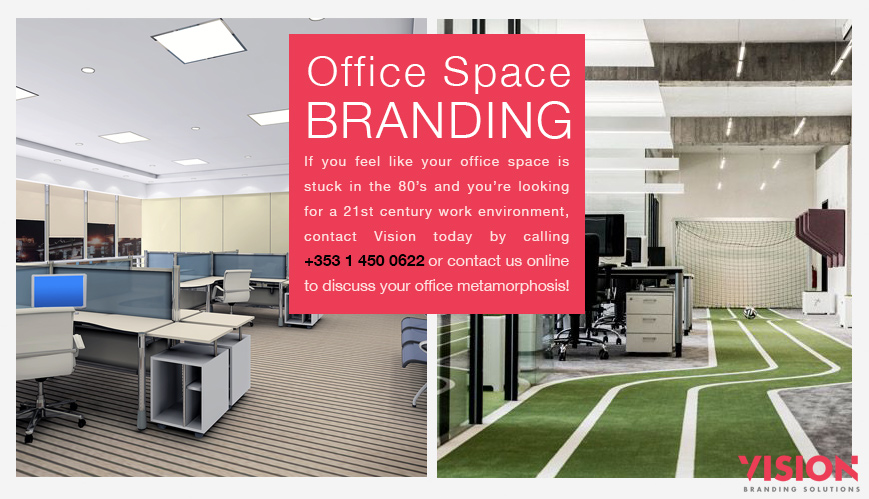 Office Space Branding - Vision Branding Solutions